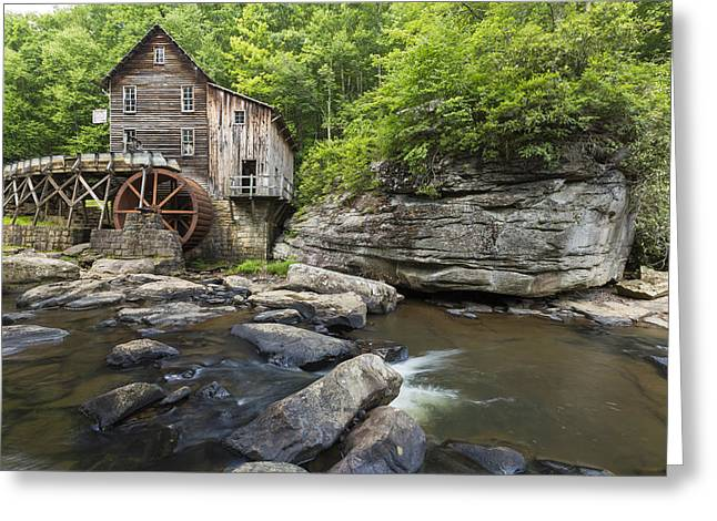 Grist Mill Greeting Cards - Grist Mill Babcock 38 Greeting Card by John Brueske