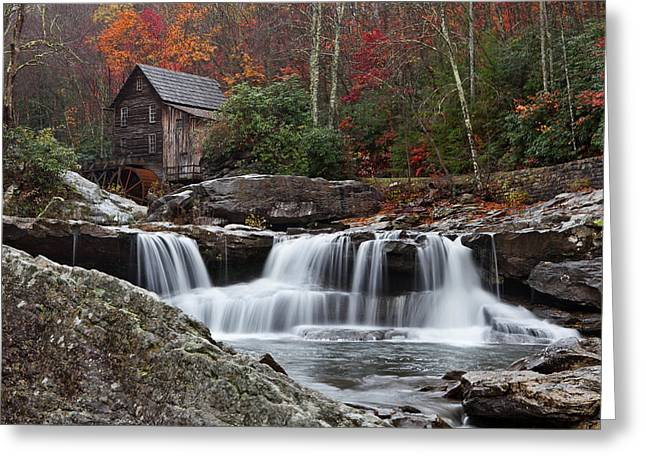Grist Mill Greeting Cards - Grist Mill Greeting Card by Beth Anthony