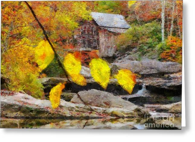 Grist Mill Greeting Card by Elizabeth Coats