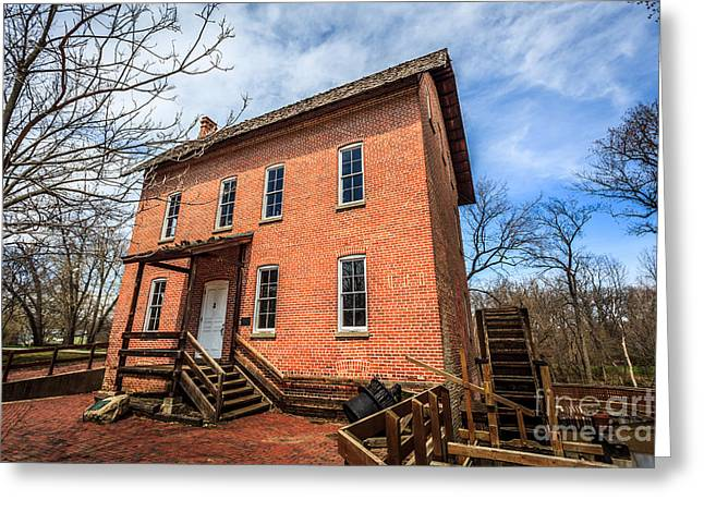 Grist Mill in Northwest Indiana Greeting Card by Paul Velgos