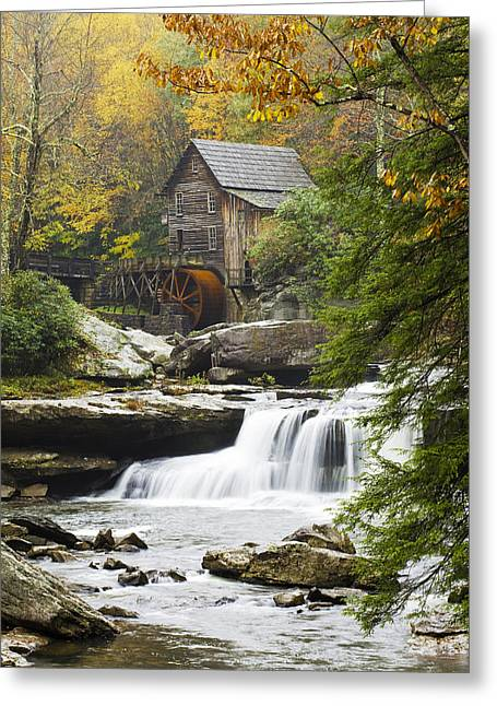 Grist Mill Greeting Cards - Grist Mill No. 2 Greeting Card by Harry H Hicklin