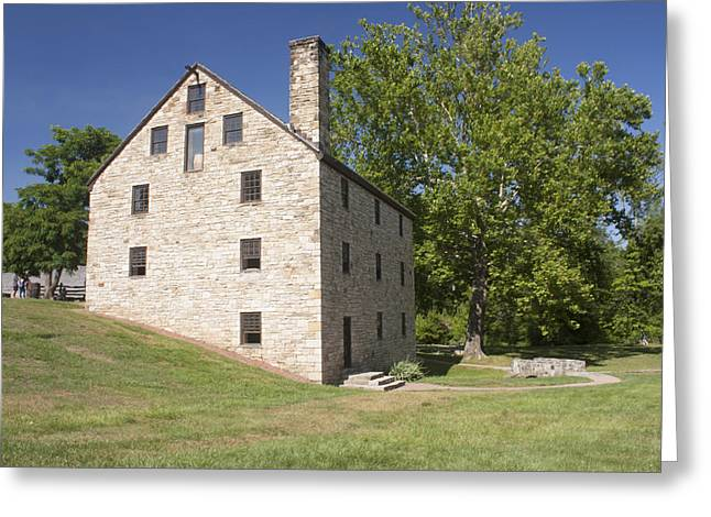 Gristmill @ Mount Vernon Greeting Card by Jason Huffman
