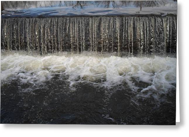 Jenna Mengersen Greeting Cards - Gristmill River Greeting Card by Jenna Mengersen