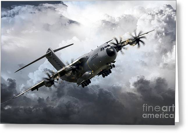 Airbus Greeting Cards - Grizzly Greeting Card by J Biggadike