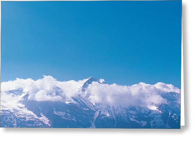 Envelop Greeting Cards - Grossglockner Austria Greeting Card by Panoramic Images