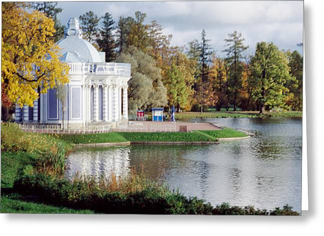 Commonwealth Of Independent States Greeting Cards - Grotto, Catherine Park, Catherine Greeting Card by Panoramic Images