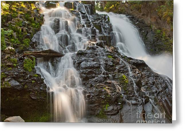 Charles Kozierok Greeting Cards - Grotto Falls Greeting Card by Charles Kozierok