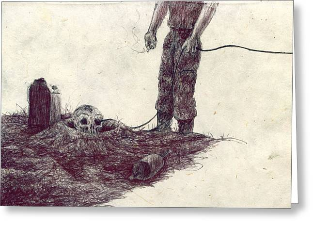 Grounding Greeting Cards - Ground Greeting Card by Kd Neeley