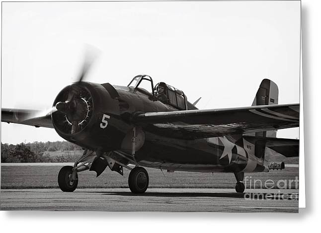 Ww11 Photographs Greeting Cards - Grumman FM-2 Greeting Card by Jim  Calarese