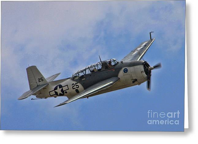 Grumman TBM-3E Avenger Greeting Card by Tommy Anderson
