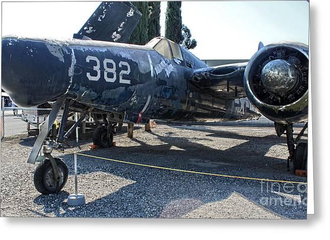 Grumman Tigercat F7f-3n  -  03 Greeting Card by Gregory Dyer