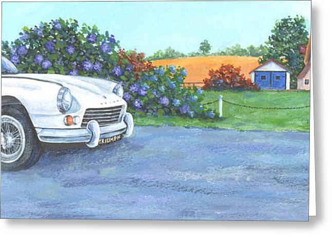 Driving Greeting Cards - Gt6 Greeting Card by Peter Adderley
