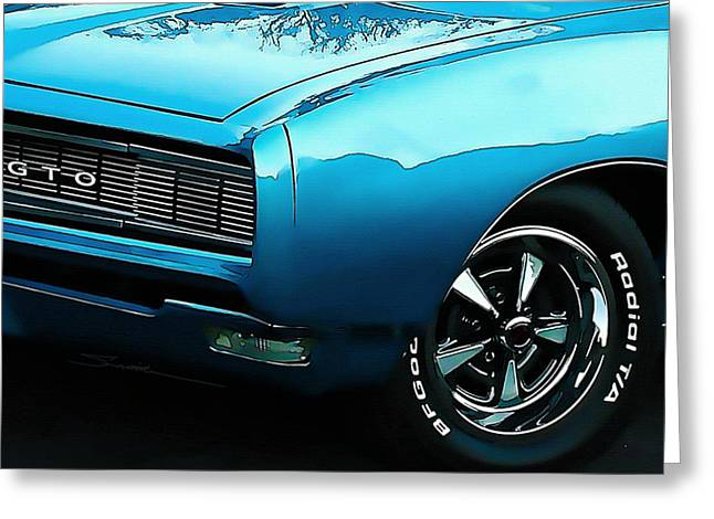 Tire Greeting Cards - Gto Greeting Card by Robert Smith