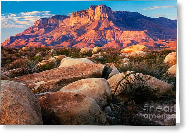 Nps Greeting Cards - Guadalupe El Capitan Greeting Card by Inge Johnsson