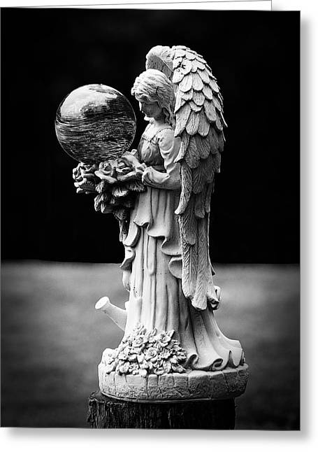 Most Viewed Digital Greeting Cards - Guardian Angel Greeting Card by Lorna Rogers Photography