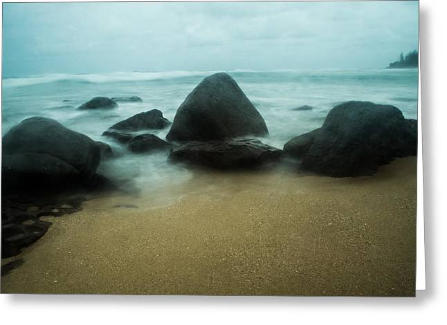 Ocean Landscape Greeting Cards - Guardians in Color Greeting Card by Parker Cunningham