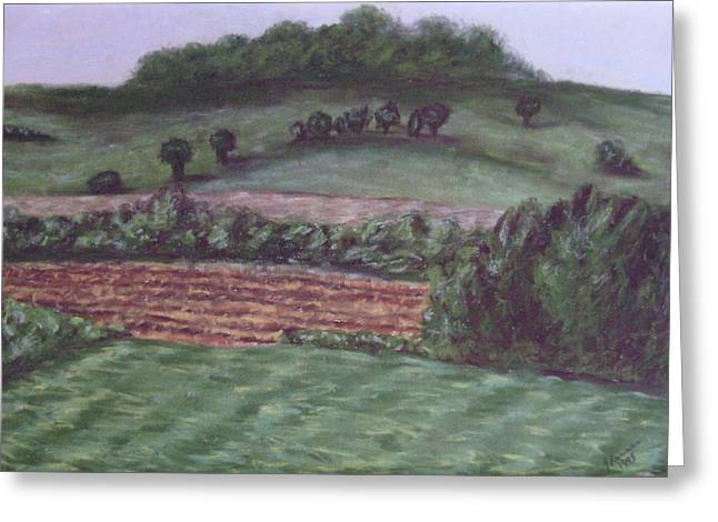 Cornfield Pastels Greeting Cards - Guardians of Hanover Greeting Card by Joann Renner