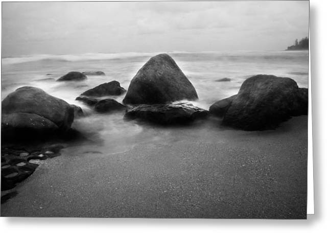 Ocean Landscape Greeting Cards - Guardians  Greeting Card by Parker Cunningham