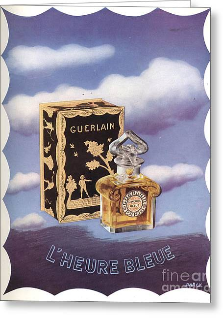 Guerlain 1930s Usa Greeting Card by The Advertising Archives