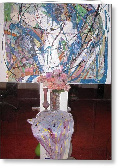 Bright Sculptures Greeting Cards - Guess Greeting Card by HollyWood Creation By linda zanini