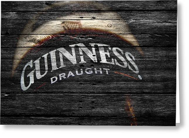 Saloons Greeting Cards - Guiness Greeting Card by Joe Hamilton