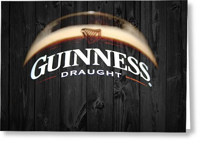 Tap Greeting Cards - Guinness Greeting Card by Dan Sproul