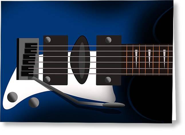 Guitar 3 Greeting Card by Mark Ashkenazi