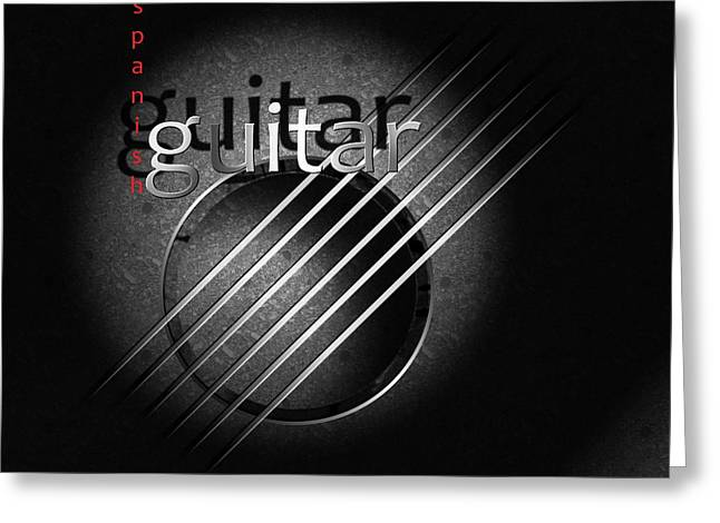 Stringed Instrument Greeting Cards - Guitar Greeting Card by Franziskus Pfleghart