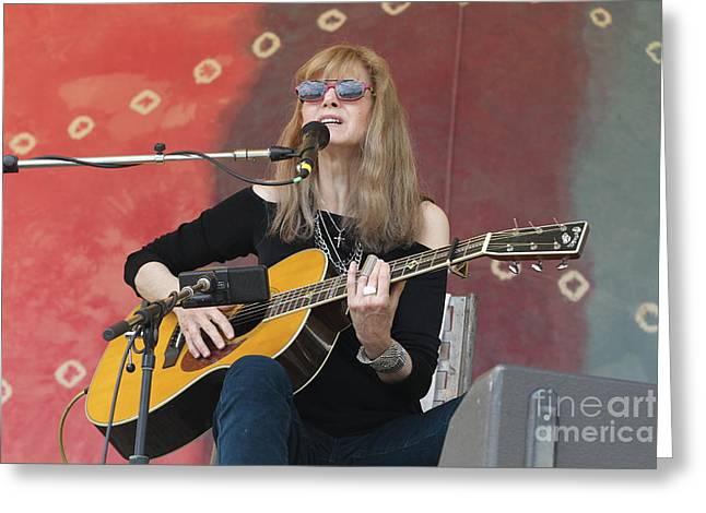 Pictur Photographs Greeting Cards - Guitarist Rory Block Greeting Card by Front Row  Photographs
