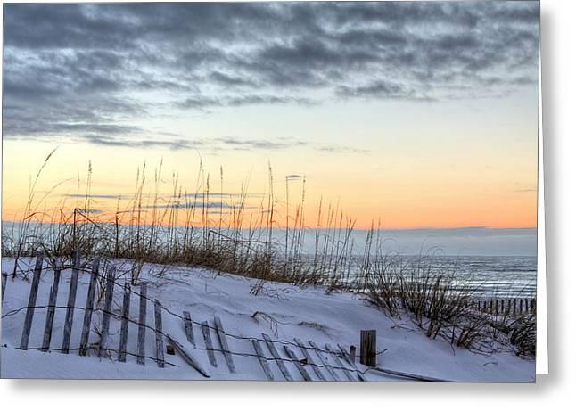 Santa Rosa Beach Greeting Cards - Gulf Coast Dunes Greeting Card by JC Findley