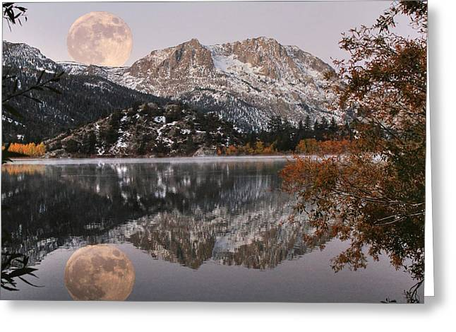 Canon 7d Greeting Cards - Gull Lake Just Before Sunrise Greeting Card by Donna Kennedy