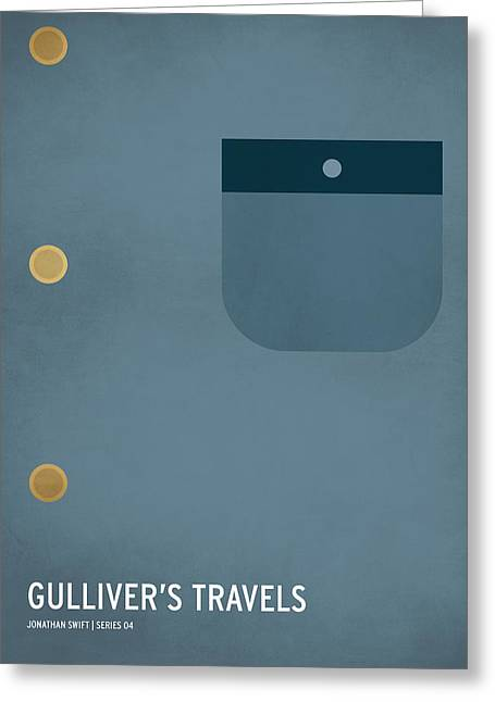 Children Art Prints Greeting Cards - Gullivers Travels Greeting Card by Christian Jackson