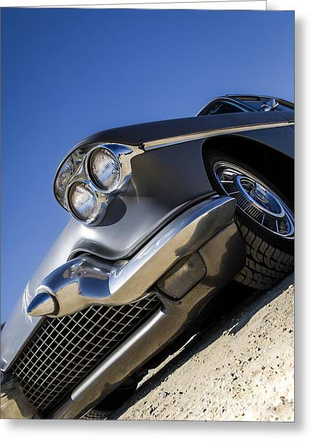 Car Framed Prints Greeting Cards - Gunn Metal - Metal and Speed Greeting Card by Holly Martin