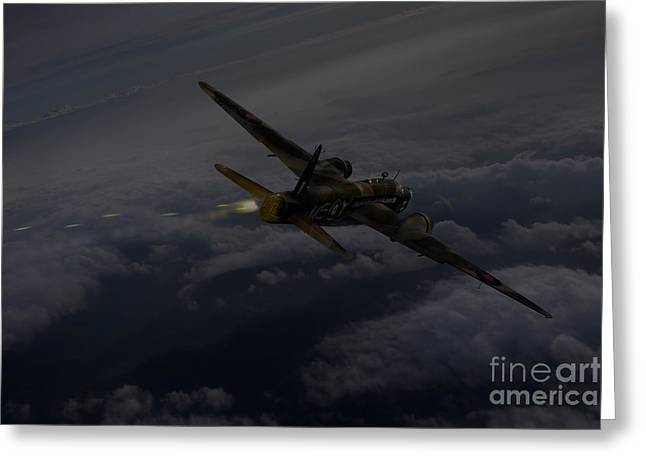 Wellingtons Greeting Cards - Gunners call Greeting Card by Gary Eason