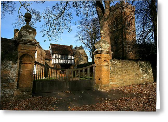 Northamptonshire Greeting Cards - Gunpowder Plot Room Greeting Card by Bob Caddick