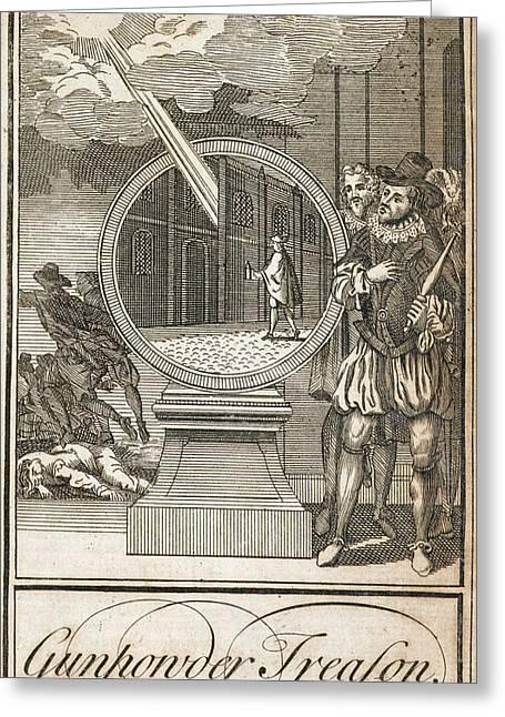 Gunpowder Treason Greeting Card by British Library