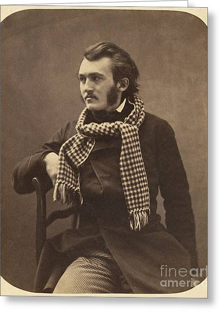 Gustave Photographs Greeting Cards - Gustave Dore French Artist Greeting Card by Getty Research Institute