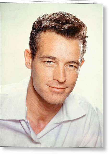 Guy Greeting Cards - Guy Madison Greeting Card by Silver Screen