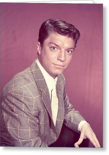 Guy Greeting Cards - Guy Mitchell Greeting Card by Silver Screen