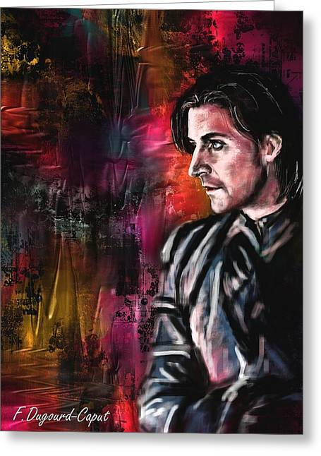 Armitage Greeting Cards - Guy of Gisborne Greeting Card by Francoise Dugourd-Caput