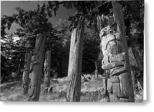 Queen Charlotte Islands Greeting Cards - Gwai Hanaas Greeting Card by Christian Heeb