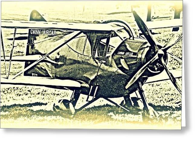 Gwinn Aircar 4 Place Greeting Card by Hank  Clark