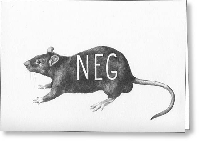 Queer Greeting Cards - Gym Rat Greeting Card by Alexander M Petersen