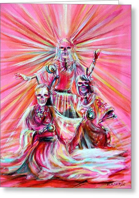 Gypsy Greeting Cards - Gypsy Goddess Greeting Card by Heather Calderon