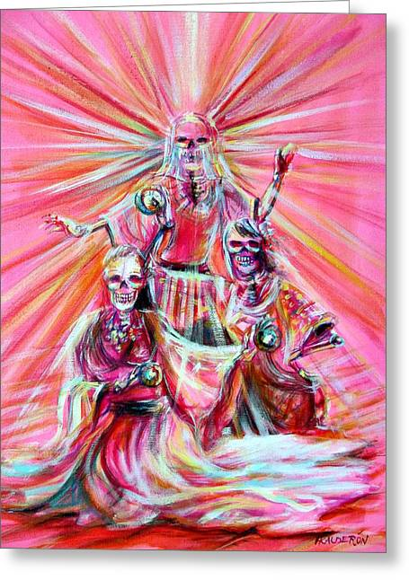Recently Sold -  - Gypsy Greeting Cards - Gypsy Goddess Greeting Card by Heather Calderon