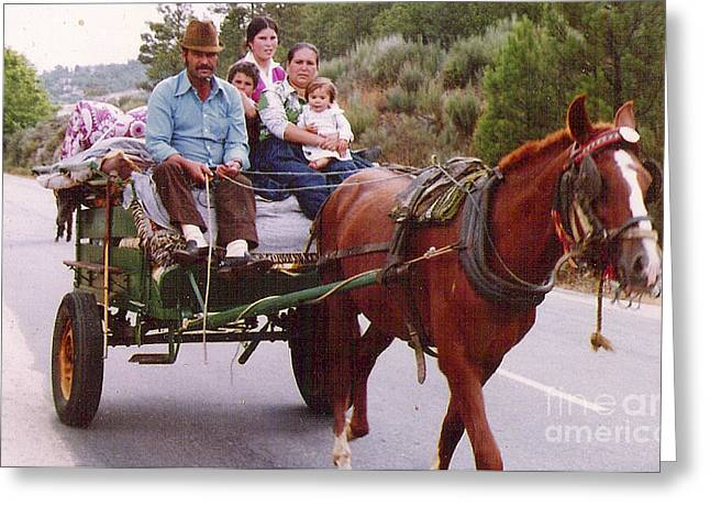 Third Estate Greeting Cards - Gypsy Greeting Card by Graham Foulkes