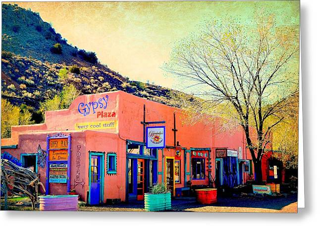 Recently Sold -  - ist Photographs Greeting Cards - Gypsy Plaza Greeting Card by Toni Abdnour