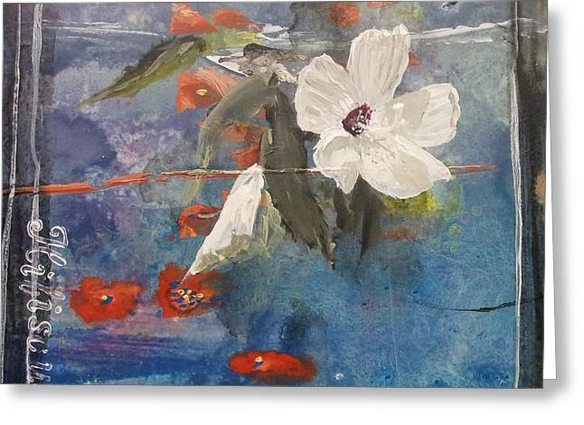 Cushion Greeting Cards - Texas Wildflowers Tp C Greeting Card by Michael Dillon