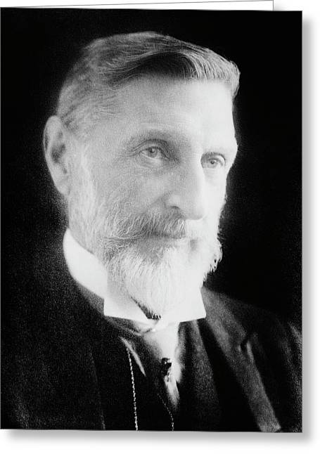 H. Rider Haggard Greeting Card by Library Of Congress