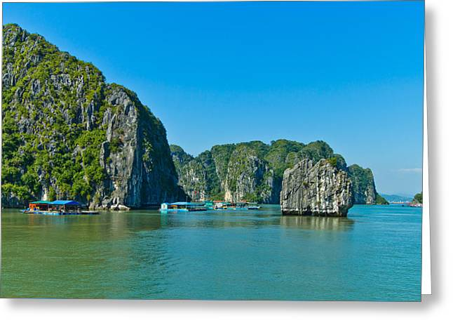 Beach Greeting Cards - Ha Long Bay  Greeting Card by Scott Carruthers